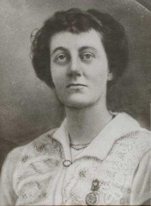 Minnie A. Mingos (1879-1952) Wedding Photo