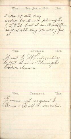 January 4 to 6, 1914