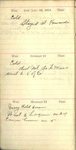 January 10 to 12, 1914