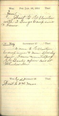 January 16 to 18, 1914