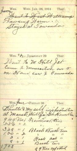 January 28 to 30, 1914