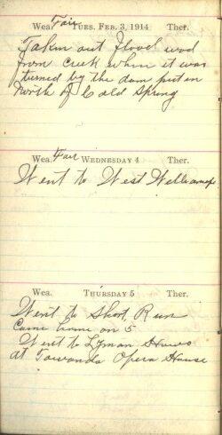 February 3 to 5,, 1914