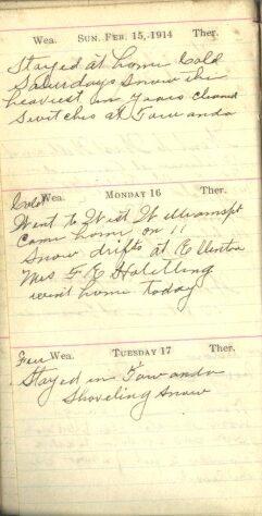 February 15 to 17, 1914