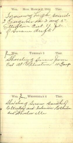 March 2 to 4, 1914