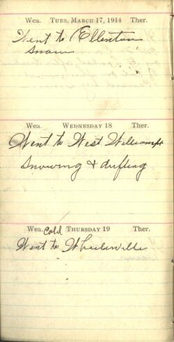 March 17 to 19, 1914