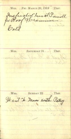 March 20 to 22, 1914