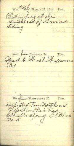 March 23 to 25, 1914