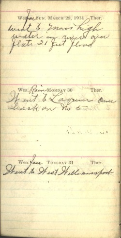 March 29 to 31, 1914