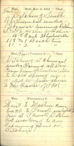 May 4 to 6, 1914