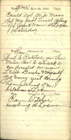 May 10 to 12, 1914