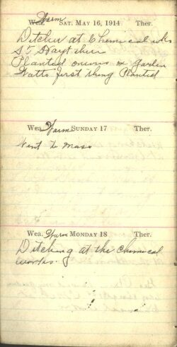 May 16 to 18, 1914