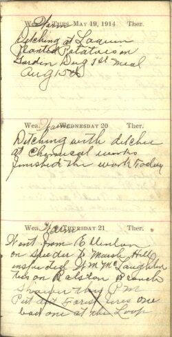 May 19 to 21, 1914