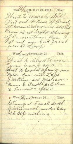 May 22 to 24, 1914