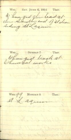 June 6 to 8, 1914