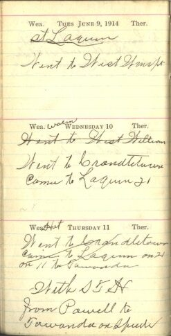 June 9 to 11, 1914