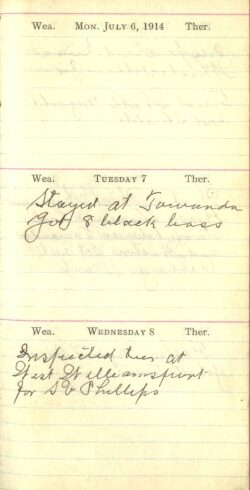 July 6 to 8, 1914