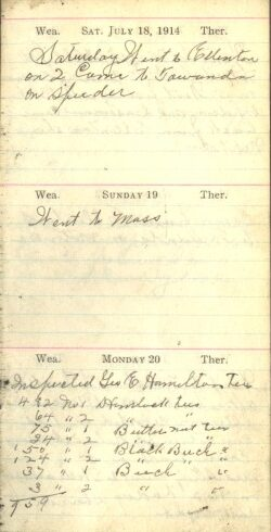 July 18 to 20, 1914