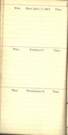 September 7 to 9, 1914