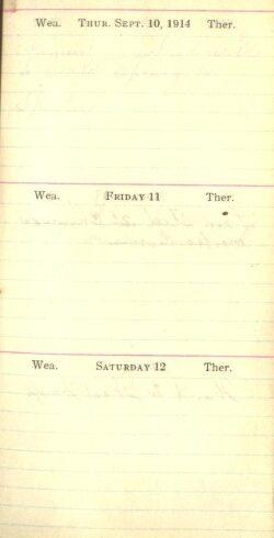 September 10 to 12, 1914