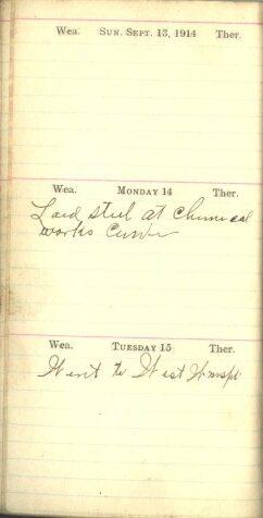 September 13 to 15, 1914