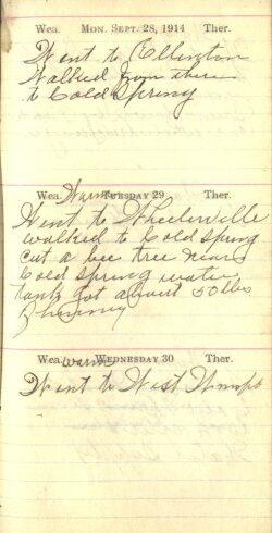 September 28 to 30, 1914