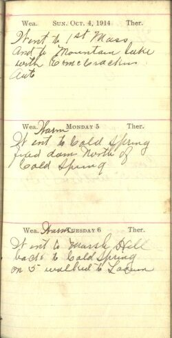 October 4 to 6, 1914