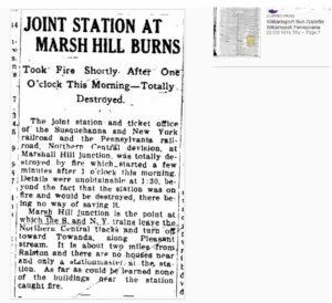Williamsport Sun-Gazette, 22 October 1914 (clipping)